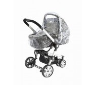 Baby Elegance Rain Cover:Carry Cot